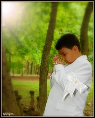 My nephew's First Communion (~Tatankanuk~) Tags: ray firstcommunion tatankanuk