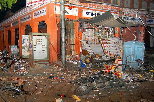 Jaipur, India Serial Bomb blast