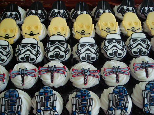 star wars cupcakes --- again