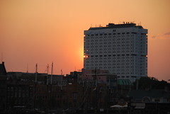 EMC (stotijn) Tags: sky orange night hospital licht rotterdam erasmus nacht avond oranje emc kleuren medischcentrum