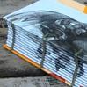 Face on the Spine Journal (MyHandboundBooks) Tags: book recycled journal coptic handbound chainstitch myhandboundbooks