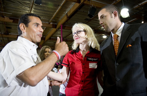 Mayor Villaraigosa - Demolicious - Jordan Farmar