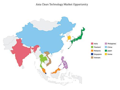 map chart