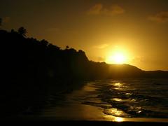 A Day Ends (linniem) Tags: sunset brazil beach glow pipa notreatment 5photosaday