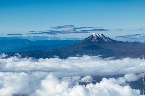 Volcan Nevado del Tolima!