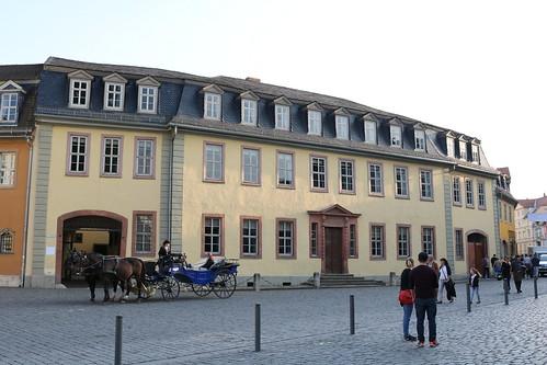 Goethe-Nationalmuseum Weimar mit Goethes Wohnhaus