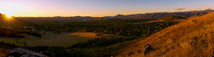 Breaking Light (RobMacPhotography) Tags: landscapes sunrise golden minute valley mountains ranges hill field paddock canberra act australia clear sky tuggeranong landscape panorama road suburbs view trees sony a6000 rob mac photography abcmyphoto