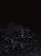 COLD AND DARK (oroyplata.) Tags: cold dark shadows tronco nigth noche selfportrait nature windy portrait surreal irreal coceptual fine art digital photography objetivo explore stars constelation oroyplata rafamacias montaña escalar mountain creative edition mastercreative film pelicola magazine young photographers darkbeauty tenebroso penumbra manipulations