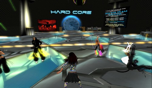 hard core party in second life
