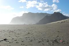 Karekare beach (satchmoid) Tags: newzealand auckland 2009 asiapacific karekarebeach