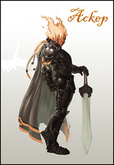 genasi male fighter (twen5) Tags: male fighter firesoul genasi swordmage