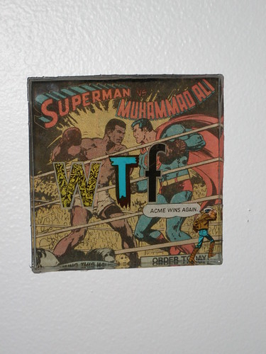 WTF #1: Superman vs. Muhammad Ali
