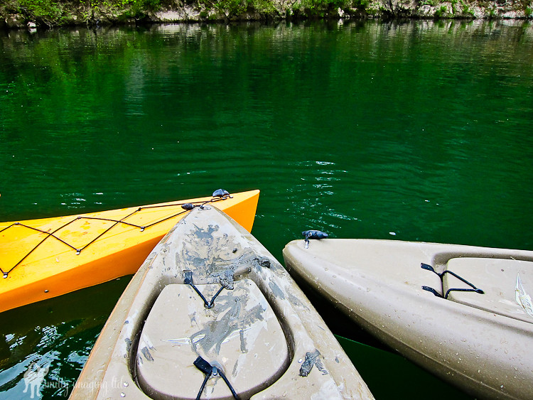 Kayak on Russian River