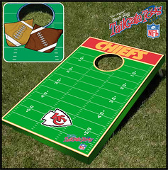 Kansas City Chiefs Bean Bag Toss Game