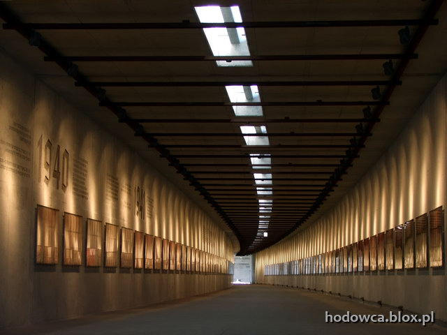 light at the end of the tunnel - Radegast Station Memorial