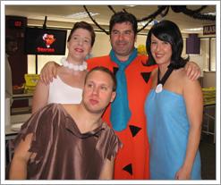 Flintstones at Halloween