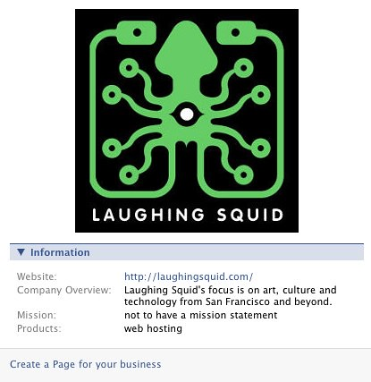 Laughing Squid Facebook Page