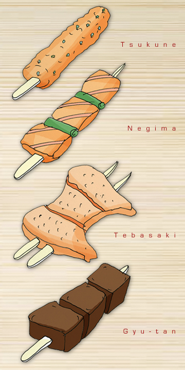 Gonpachi Anime Food