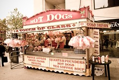 Hot Dog Stand Near St Paul's Cathedral