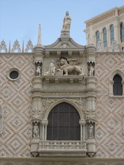 The Doge's Palace @ The Venetian (Christian y Sergio) Tags: lasvegas nevada replica thestrip thevenetian wingedlion rplica leonalado thedogespalace