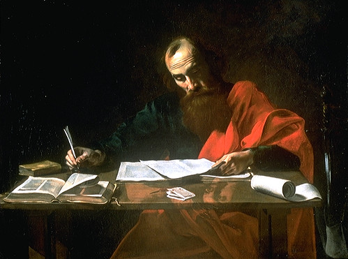 Paul of Tarsus writing Epistles | Flickr - Photo Sharing!