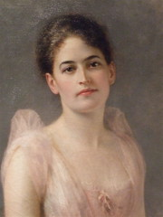 Juliette Gordon Low_Portrait (catface3) Tags: pink portrait woman painting washingtondc smithsonian dc girlscouts nationalportraitgallery ballgown juliettegordonlow catface3