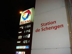 Total Station de Schengen