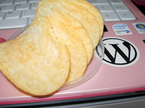 potato chips and WordPress