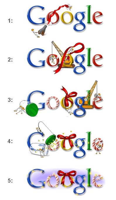 Google Christmas Doodle 2007