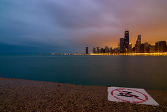 Pushing the Limits (alforque) Tags: cityscape lakemichigan chicagoskyline johnhancockcenter northavenuebeach chicagoist tokina1224mmf4 diamondclassphotographer flickrdiamond wetraveltheworld pancry beach08 chiflickr20080105 top2020080107 top2020080207 top2020080405 top2020090122