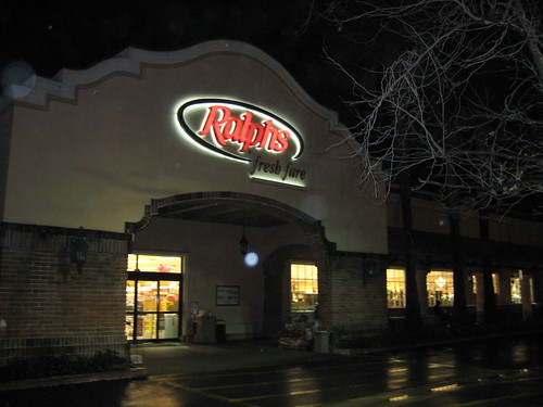 Ralph's at night