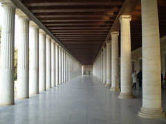 Stoa of Attalos /    (mitko_denev) Tags: ancient athens greece archeology agora stoa attalos    platinumphoto