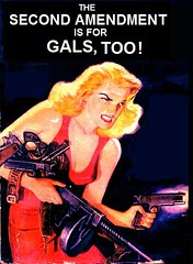 Gals too (Mike Licht, NotionsCapital.com) Tags: women satire guns parody secondamendment 2ndamendment gunrights mikelicht notionscapitalcom amendmentii