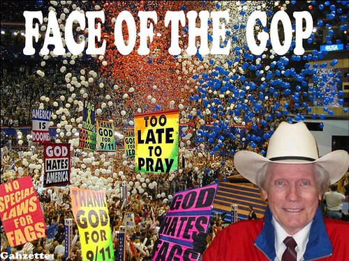 Fred Phelps Face of GOP