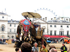 The Sultan's Elephant at rest (Sarge-Jack) Tags: england london eyeoflondon horseguardparade