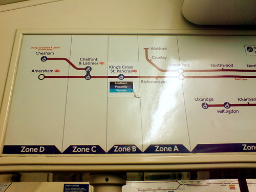 """What's King's Cross doing in zone B?"""