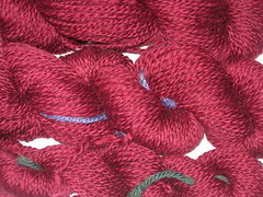 Warm wine yarn 2