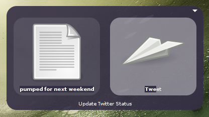 twitter plugin for gnome-do