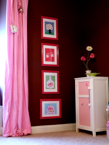 pink dreams artwork corner (by champagne.chic)