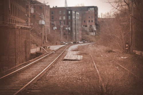 Brattleboro Train Tracks