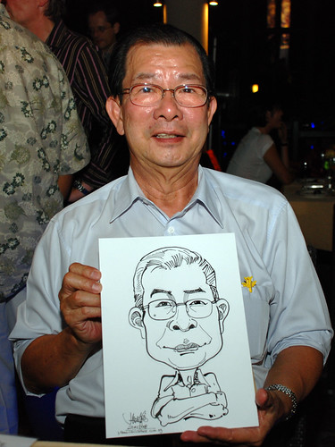 Caricature live sketching Hypercoat Enterprises Pte Ltd 7