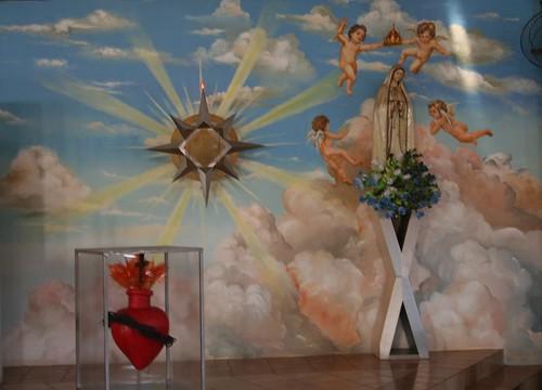 Sacrário e pintura na igreja Sto. Antônio  por vandevoern.