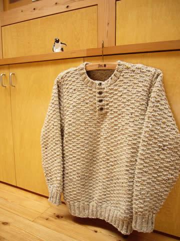 Crew-neckHenleySweater