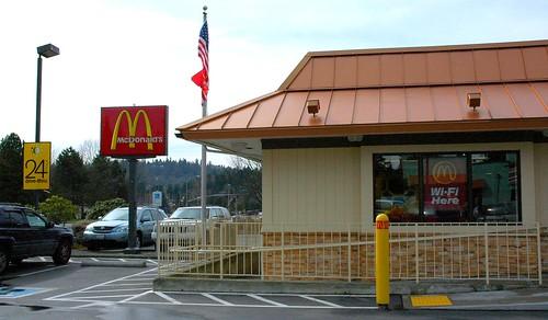 McDonald's Wi-Fi Here