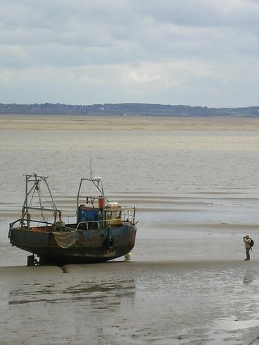 River Dee - low tide