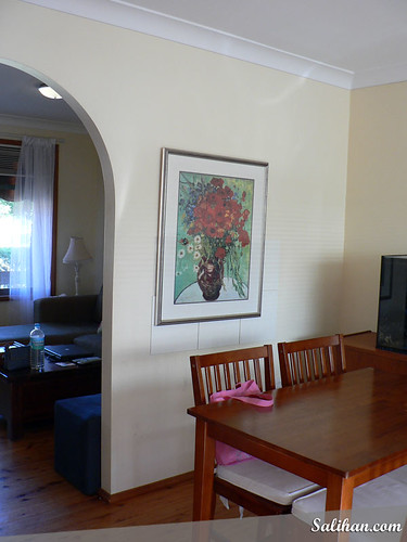The Wall in Dining Area (Before)