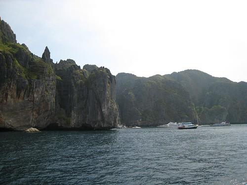Rocks near Phi Phi