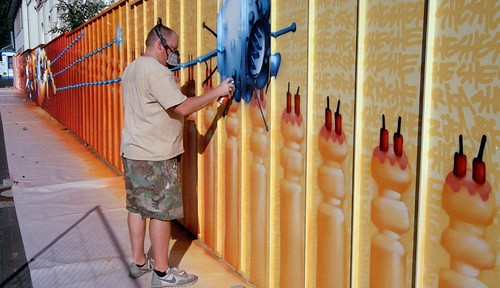 Auftrags Graffiti in Troisdorf