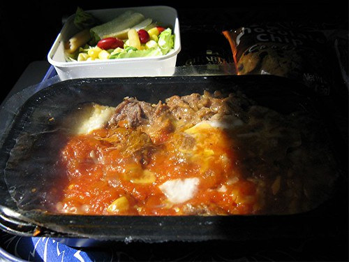 Hawaiian airlines beef enchilada