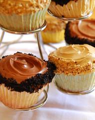 Vanilla Buttermilk Cupcakes.